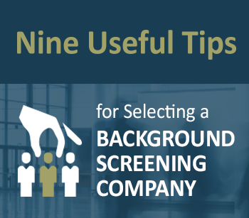 choosing background screening provider