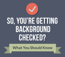 about getting background checked