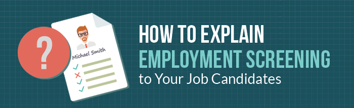 explain employment screening