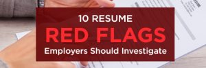 resume red flags
