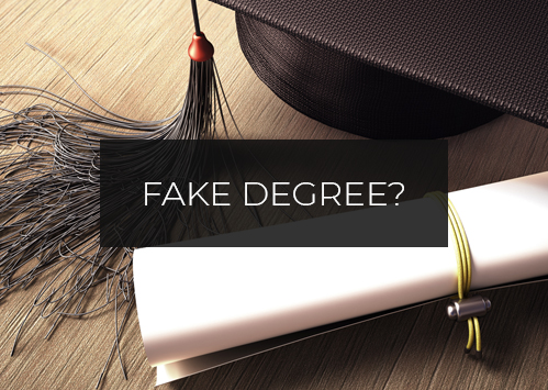 Fake Degree?