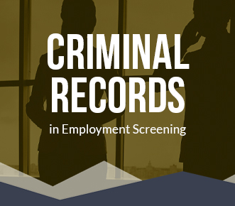 Criminal Records for Employment Screening