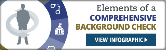 elements of a comprehensive background check